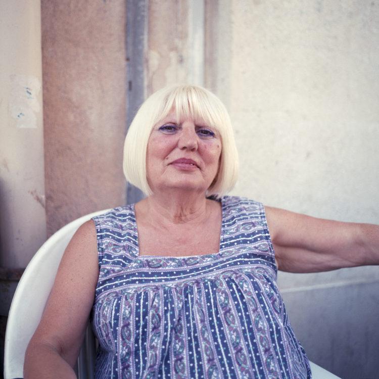 Élise Llinares | Littoral Marseille | 2017-2018 | Portrait de femme, quartier du Panier