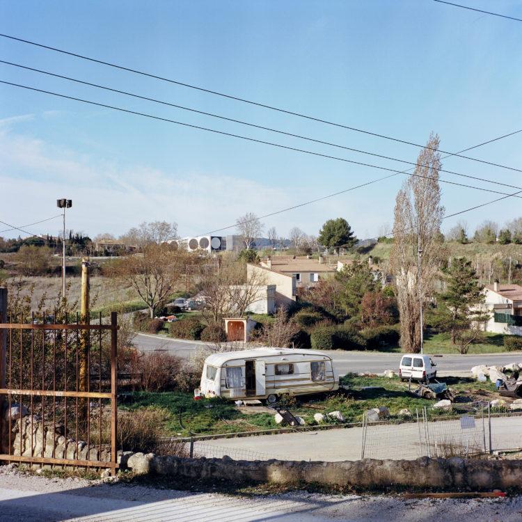 Sylvain Maestraggi | Autour d'Aix-en-Provence | 2012-2020 | Colline de la Constance, hiver 2016