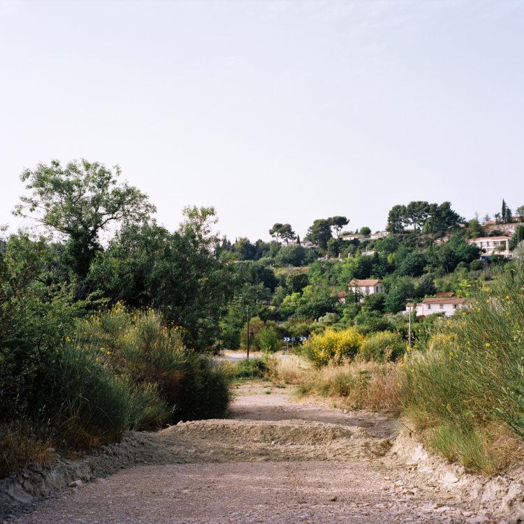 Sylvain Maestraggi | Autour d'Aix-en-Provence | 2012-2020 | Chemin de la Rapine, vers Célony, été 2019