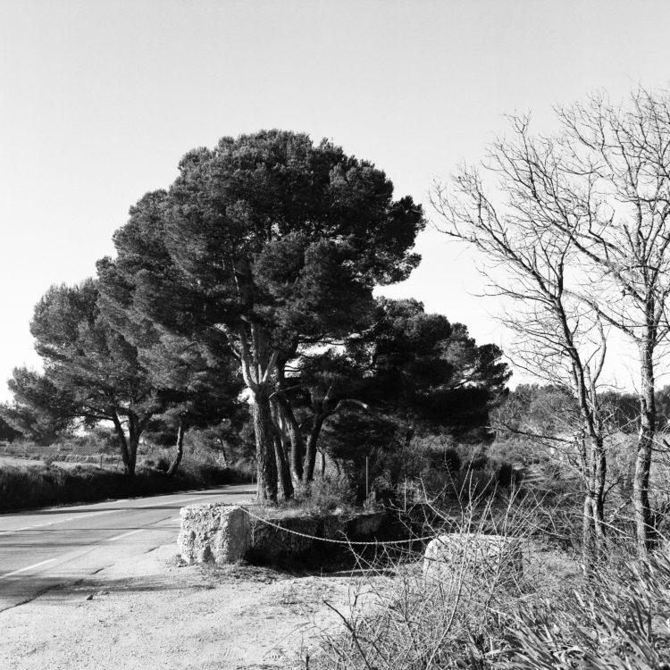 Sylvain Maestraggi | Autour d'Aix-en-Provence | 2012-2020 | Route de Berre, hiver 2020