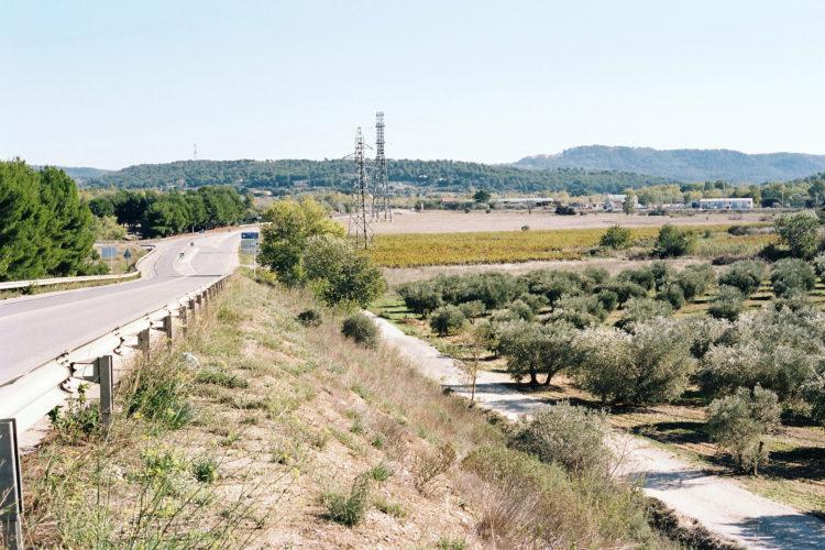 Sylvain Maestraggi | Suite départementale | 2012-2014 | Pont sur l'échangeur A7-A8, La Fare-les-Oliviers, 2012