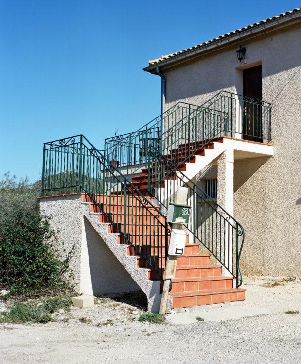 Sylvain Maestraggi | Suite départementale | 2012-2014 | Escalier, La Fare-les-Oliviers, 2012