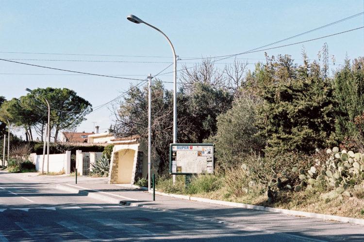 Sylvain Maestraggi | Suite départementale | 2012-2014 | Entrée de ville, La Fare-les-Oliviers, 2013