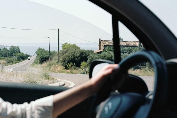 Sylvain Maestraggi | Suite départementale | 2012-2014 | Route de Berre-l'Étang, étang de Berre, Saint-Chamas, 2012