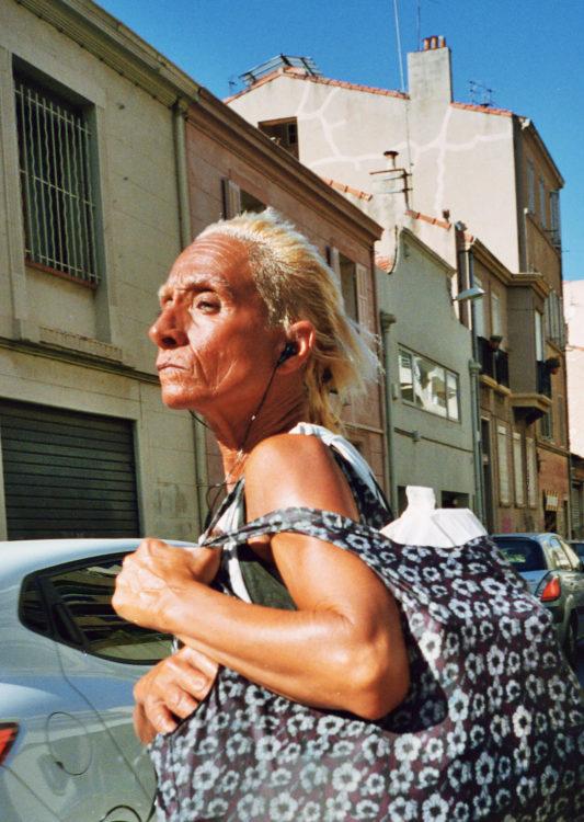 Sam Phelps | Belladone | 2017-2020 | A woman walks through Marseille, France in 2018.