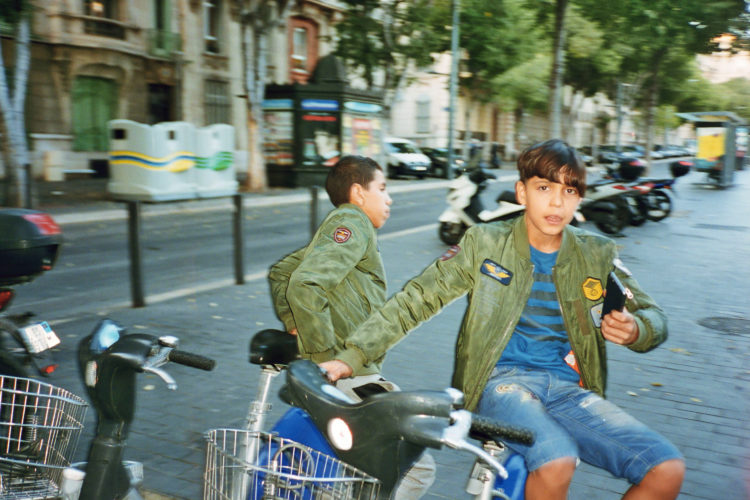 Sam Phelps | Belladone | 2017-2020 | Boys sit on bikes at Reformes, Marseille, France, 2017.