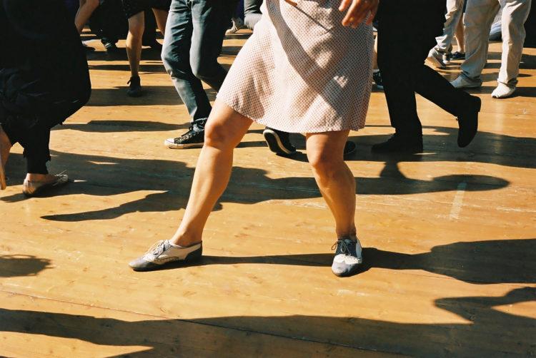 Sam Phelps   Belladone   2017-2020   Dancing during World War Memorial Day on La Canebière in Marseille, France, 2018.