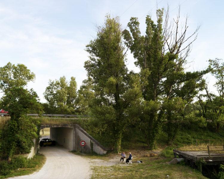 Rhodanie, Bollène, contre-canal du Rhône