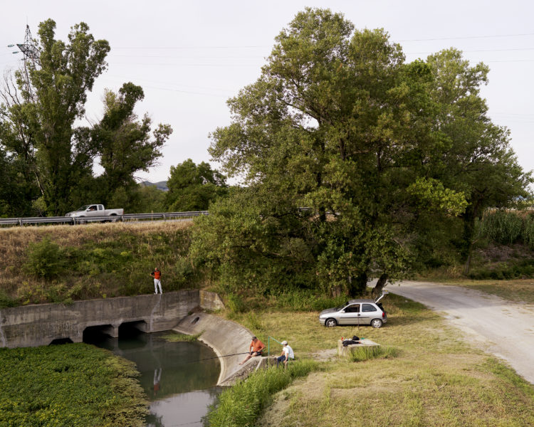 Bertrand Stofleth | Rhodanie | 2007-2015 | Rhodanie, Bollène, contre-canal du Rhône