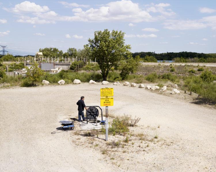 Bertrand Stofleth | Rhodanie | 2007-2015 | Rhodanie, Codolet, aménagements CNR mitoyens de la Centrale Nucléaire de Marcoule