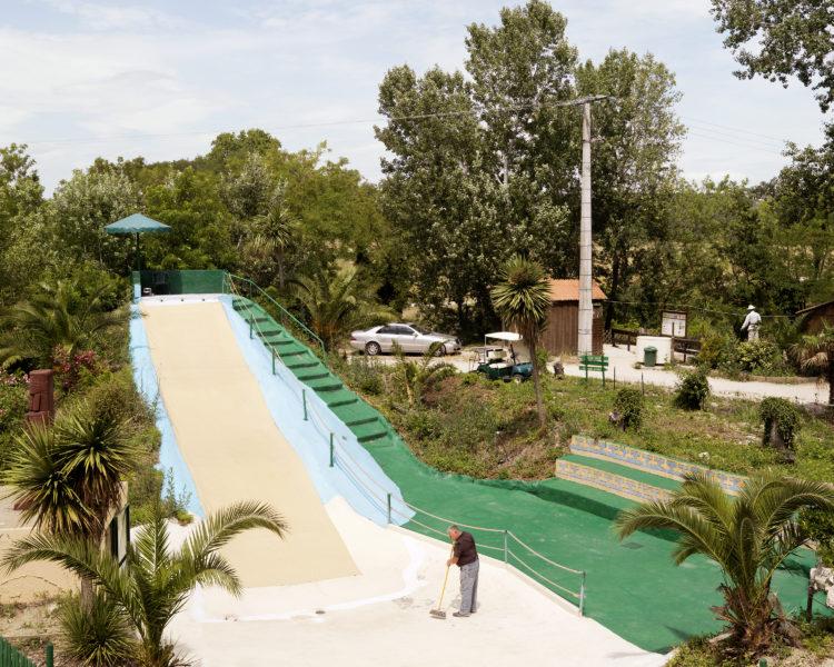 Bertrand Stofleth | Rhodanie | 2007-2015 | Rhodanie, Roquemaure, parc Amazonia. Ancienne Lône, parc bâti sur l'ile de Miemart.