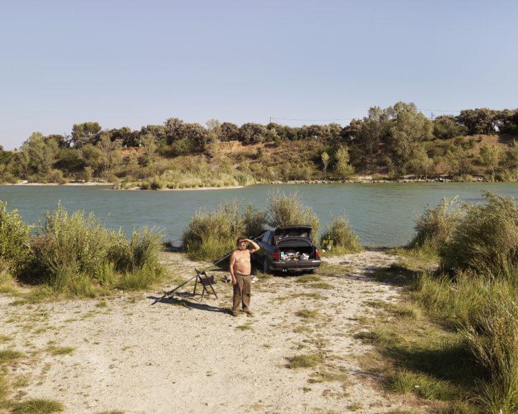 Bertrand Stofleth | Rhodanie | 2007-2015 | Rhodanie, lac de la Lionne. Gravières situées au nord de Sorgues
