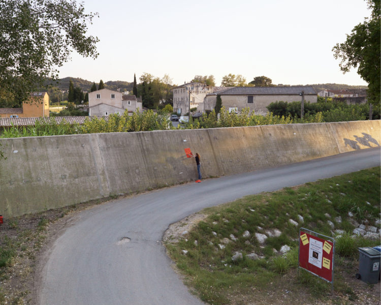 Bertrand Stofleth | Rhodanie | 2007-2015 | Rhodanie, Comps, digues à la confluence du Rhône et du Gardon