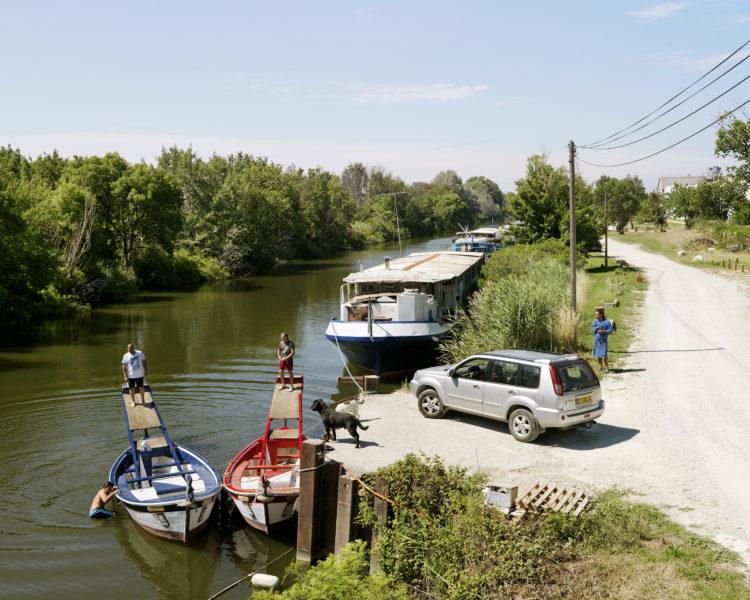 Bertrand Stofleth | Rhodanie | 2007-2015 | Rhodanie, Arles, Joutes, canal d'Arles à Bouc.