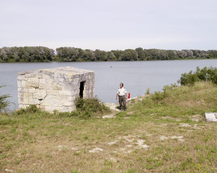 Bertrand Stofleth | Rhodanie | 2007-2015 | Rhodanie, Rhodanie, Camargue, grand Rhône, prise d'eau à Crémaillère XVIIe