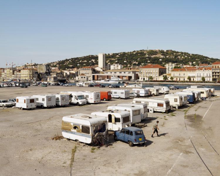 Bertrand Stofleth | Rhodanie | 2007-2015 | Rhodanie, Sète, arrivée à la mer du canal du Rhône à Sète.