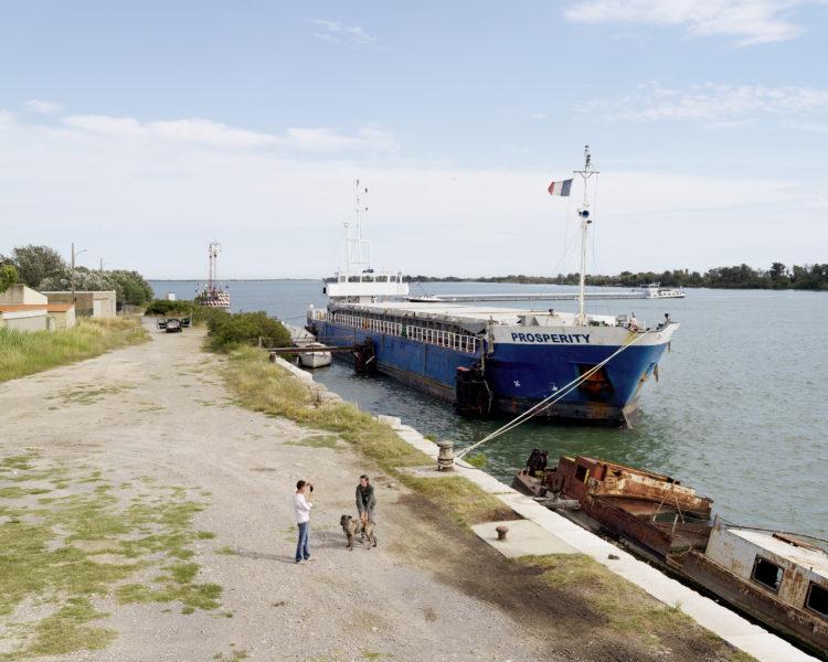 Bertrand Stofleth | Rhodanie | 2007-2015 | Rhodanie, Port Saint Louis du Rhône, embouchure du Rhône sur la mer méditerranée