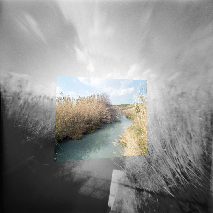 Martial Verdier | Port-de-Bouc 150 ans – Archéologie d'une poétique de Port-de-Bouc | 2014-2016 | Port-de-BoucLe ruisseau de St Jean, frontière avec Martigues