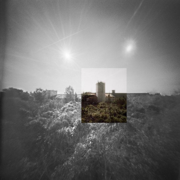 Martial Verdier | Port-de-Bouc 150 ans – Archéologie d'une poétique de Port-de-Bouc | 2014-2016 | Port-de-Bouc Le Chateau Vidal, les deux soleils