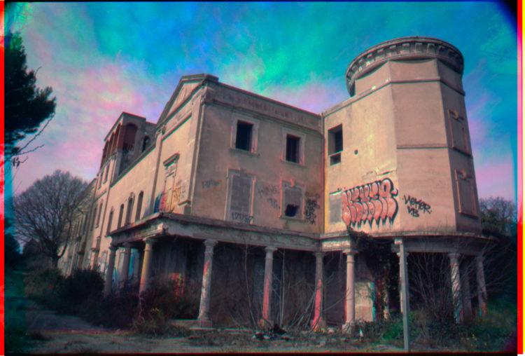 Martial Verdier | Port-de-Bouc 150 ans – Archéologie d'une poétique de Port-de-Bouc | 2014-2016 | Port-de-Bouc Le Chateau Vidal.Trichromie