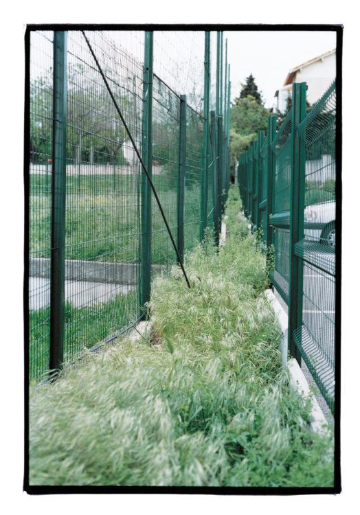 Milieu de l'allée des Primevères et de l'avenue des Félibres | Tranchée couverte de Montolivet-Bois-Luzy | Rocade L2 Est | 04/2003