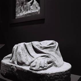 Suzanne Hetzel   7 saisons en Camargue   2013-2016   Fragment romain, exposition Le Rhône pour mémoire, musée départemental Arles antique, 2009
