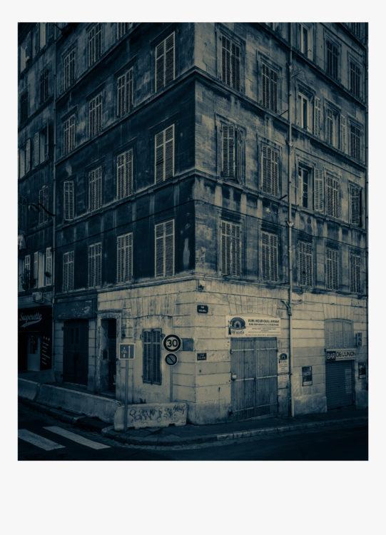 Olivier Monge | Marseille, topologie d'un péril imminent | 2018-2019 | Olivier Monge/ MYOP, Marseille Topologie d'un péril imminent, 43 rue Montolieu