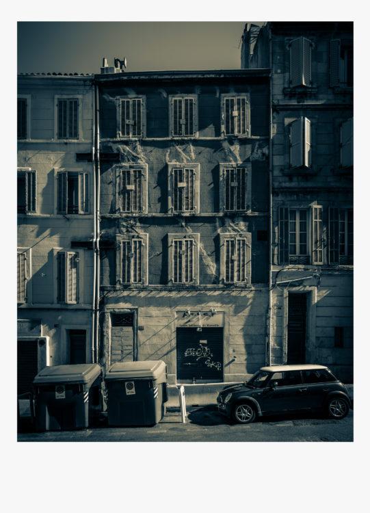 Olivier Monge | Marseille, topologie d'un péril imminent | 2018-2019 | Olivier Monge/ MYOP, Marseille Topologie d'un péril imminent,  68 rue Clovis Hugues 13003