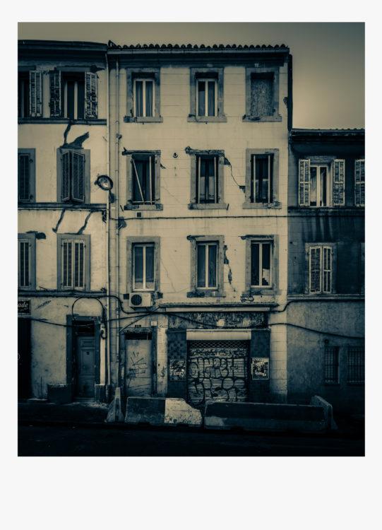 Olivier Monge | Marseille, topologie d'un péril imminent | 2018-2019 | Olivier Monge/ MYOP, Marseille Topologie d'un péril imminent,  61 rue Clovis Hugues 13003