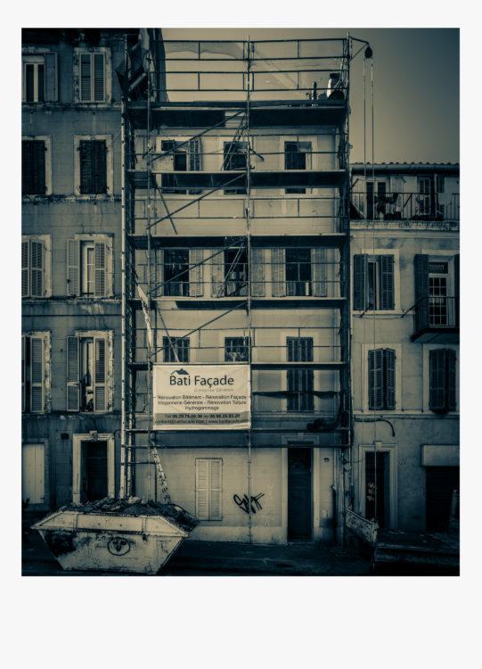 Olivier Monge | Marseille, topologie d'un péril imminent | 2018-2019 | Olivier Monge/ MYOP, Marseille Topologie d'un péril imminent,  33 rue Clovis Hugues 13003