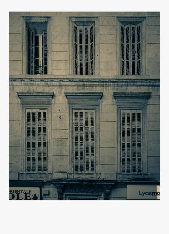 Olivier Monge | Marseille, topologie d'un péril imminent | 2018-2019 | Olivier Monge/ MYOP, Marseille Topologie d'un péril imminent, 20 rue des petites marie 13001