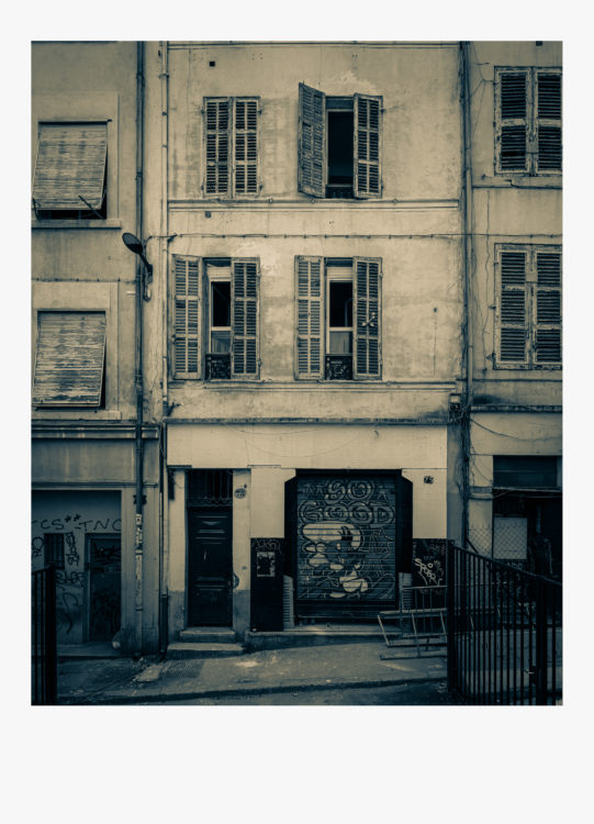 Olivier Monge | Marseille, topologie d'un péril imminent | 2018-2019 | Olivier Monge/ MYOP, Marseille Topologie d'un péril imminent, 79 rue d'aubagne 13001
