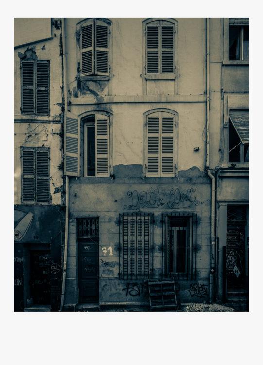 Olivier Monge | Marseille, topologie d'un péril imminent | 2018-2019 | Olivier Monge/ MYOP, Marseille Topologie d'un péril imminent, 71 rue d'aubagne 13001
