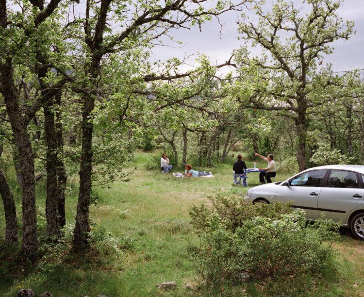 Sylvain Duffard | La forêt habitée, paysages de la Sainte-Baume | 2009-2010